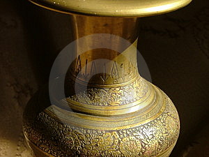 Artistic Vase Stock Photography