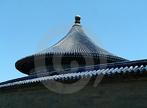 Chinese Dome Stock Photo