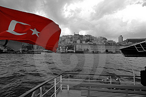 Istanbul From The Sea Stock Photography