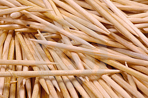 Toothpicks 2 Free Stock Photos