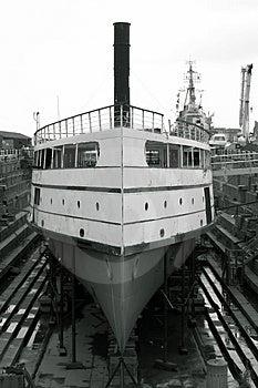 Shipyard Restoration Stock Images