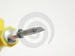 Close-up de uma chave de fenda III Imagem de Stock