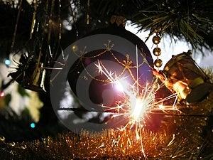 Sparklers Free Stock Image