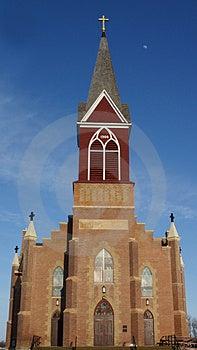 Warsaw Catholic Church Stock Photo