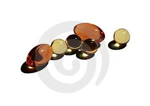 Capsules Stock Photo