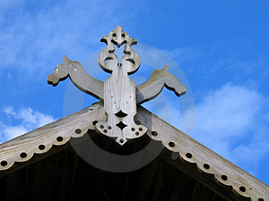 Roof Ornament Stock Photos