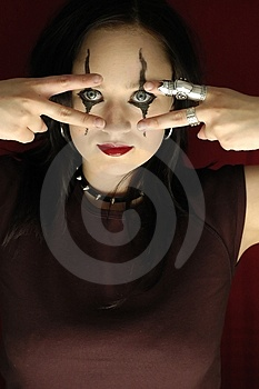 Gothic Woman - Serie Stock Photography