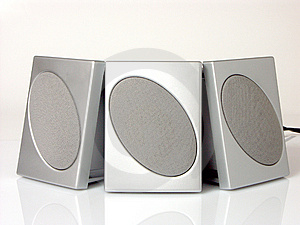 Three Speakers Free Stock Photography