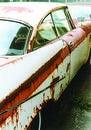 Junk Yard Car Royalty Free Stock Images