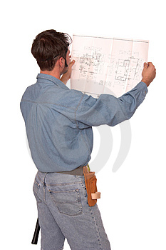 Blue prints 2 Royalty Free Stock Photos