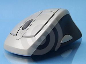 Cordless Mouse 2 Royalty Free Stock Images - Image: 1406159