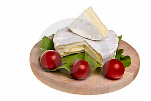 Round Camembert Cheese. Royalty Free Stock Images - Image: 14001979