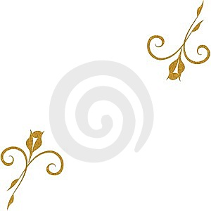 Gold Roses Background Royalty Free Stock Image - Image: 14005316
