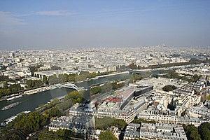 Paris And The Seine River Stock Photo - Image: 14005820