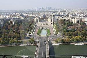 Paris From The Eiffel Tower, France Stock Images - Image: 14005834