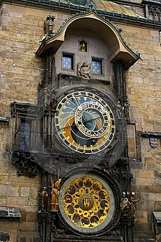 Astrological Clock Prague Stock Photography - Image: 14006392