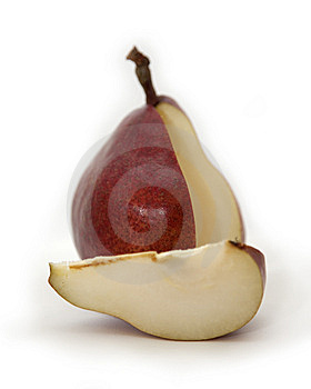 Pear Segment Stock Photography - Image: 14006712