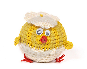Knitted Toy Royalty Free Stock Photos - Image: 14007858