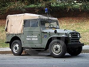 Vintage Police Car Royalty Free Stock Photo - Image: 14008755