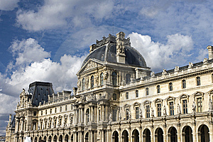 View Of Louvre Museum Stock Photography - Image: 14009722