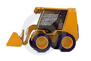 Bulldozer On Wheels Stock Image - Image: 14011961