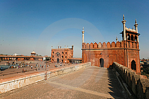 Jama Masjid Stock Photography - Image: 14014122