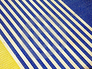 Striped Plastic Surface Stock Photography - Image: 14014962