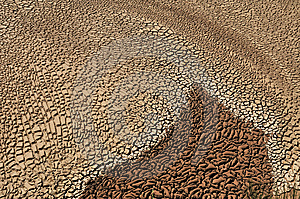 Arid Soil Stock Photos - Image: 14015233