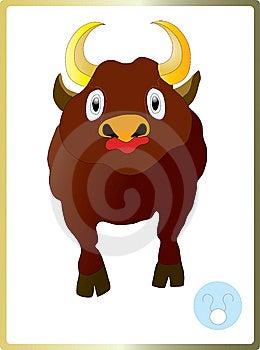 Bull Royalty Free Stock Photo - Image: 14015925