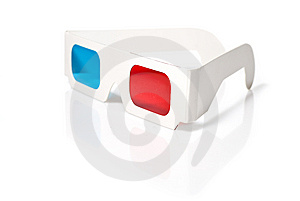Stereo Glasses Stock Photography - Image: 14020002