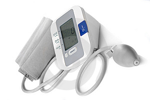Automatic Digital Blood Pressure Monitor Royalty Free Stock Photography - Image: 14021647