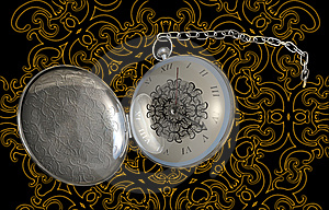 Antique Fob Watch Stock Image - Image: 14023341