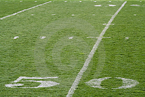 Fifty Yard Line Stock Photos - Image: 14027883