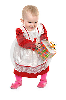 Cute One Year Old Girl Stock Image - Image: 14030151