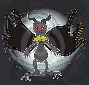Dark Monster Royalty Free Stock Photos - Image: 14030888