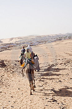 Camel Ride Royalty Free Stock Photography - Image: 14031157