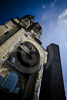Kaiser Willhelm Church Royalty Free Stock Images - Image: 14031529