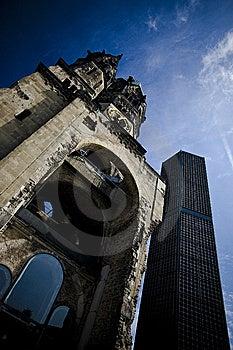 Kaiser Willhelm Church Royalty Free Stock Images - Image: 14031529