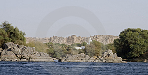 Nile River House,Aswan Royalty Free Stock Image - Image: 14031876