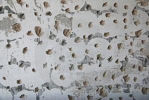 Damaged Wall Stock Image - Image: 14032551