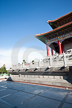 Chinese Temple Court Royalty Free Stock Photo - Image: 14034215