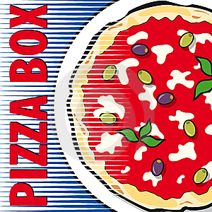 Pizza Box Royalty Free Stock Photography - Image: 14039187