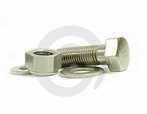 Bolt And Nut Stock Photography - Image: 14039602