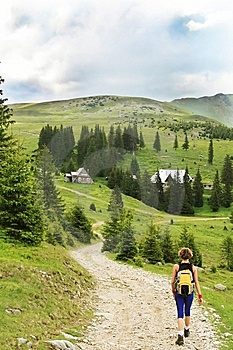 Trekking In The Mountains Royalty Free Stock Photography - Image: 14039747