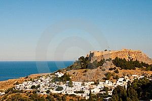 Grieks Dorp Stock Foto's - Afbeelding: 14042163