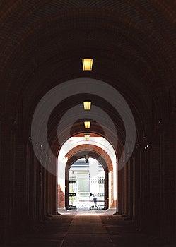 Underpass Subway Royalty Free Stock Photo - Image: 14043315