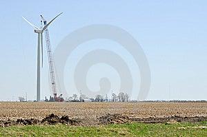 Turbine Construction II - Left Royalty Free Stock Photos - Image: 14043908
