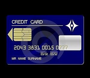Credit Card Royalty Free Stock Photo - Image: 14045435