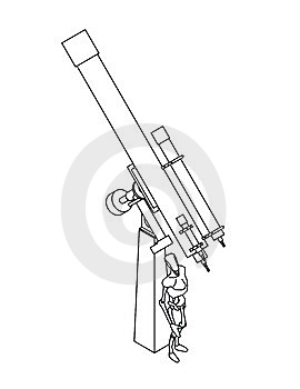 Telescope Stock Photography - Image: 14048082