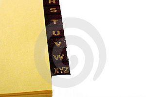 Alphabetic Catalogue Royalty Free Stock Photo - Image: 14048405